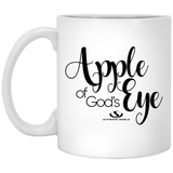 APPLE OF GOD'S EYE 11 oz. White Mug gifts, gift ideas