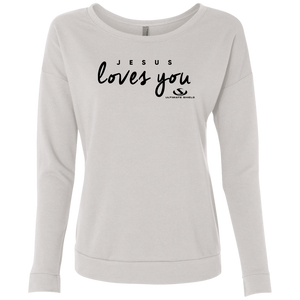 JESUS LOVES YOU Ladies Top gifts, gift ideas