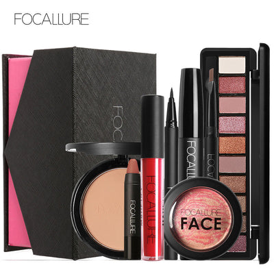 FOCALLURE 8 PCS  professional makeup Gift Set gifts, gift ideas