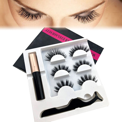 Long -Lasting Waterproof 3D Magnetic Mink Eyelash Set gifts, gift ideas