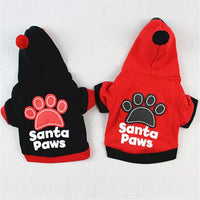 Small Puppy pet Christmas Hoodie gifts, gift ideas