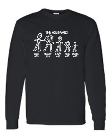Funny Shirt | Unisex Meet The Ass Family gifts, gift ideas