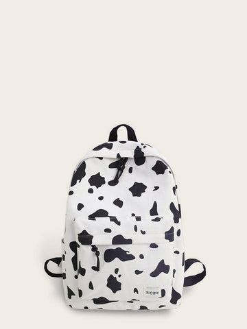 Cow Print Pocket Front Backpack gifts, gift ideas