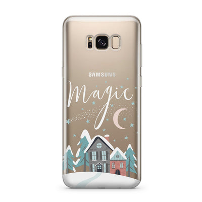 Christmas Magic - Clear Case Cover for Samsung gifts, gift ideas