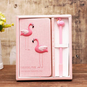 Flamingo Notebook & Pen Set Notebook Set