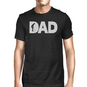 Dad Golf Mens Black Round Neck Tee Funny Gifts For gifts, gift ideas