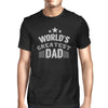 Worlds Greatest Dad Mens Black Graphic T-Shirt gifts, gift ideas