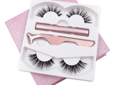 Rose Gold 3D Mink Magnetic Eyelash Kit gifts, gift ideas