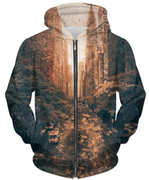 Tainted  UNISEX ZIP HOODIE gifts, gift ideas
