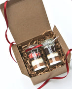 Gourmet Hot Chocolate Gift Set, 2 Mini Hot Cocoa Home & Garden