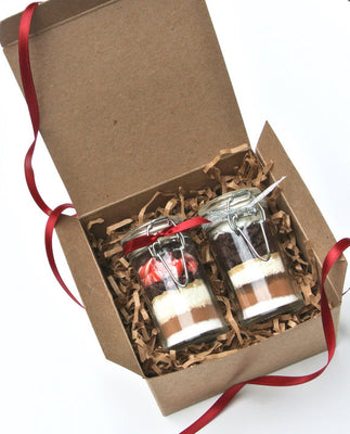 Gourmet Hot Chocolate Gift Set, 2 Mini Hot Cocoa gifts, gift ideas