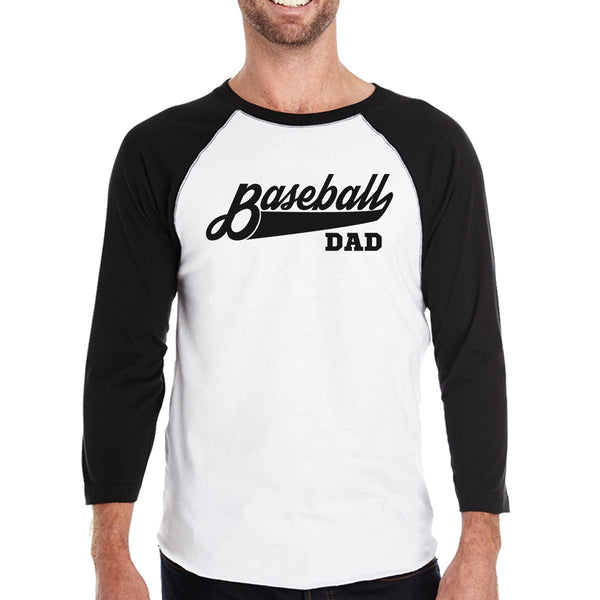 Baseball Dad Long Sleeve Shirt Clothing