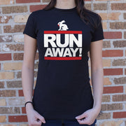 Run Away Rabbit | Ladies T-Shirt Ladies T-Shirt