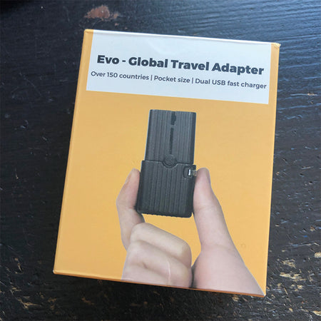 Evo – The World's Smallest Global Travel Adapter