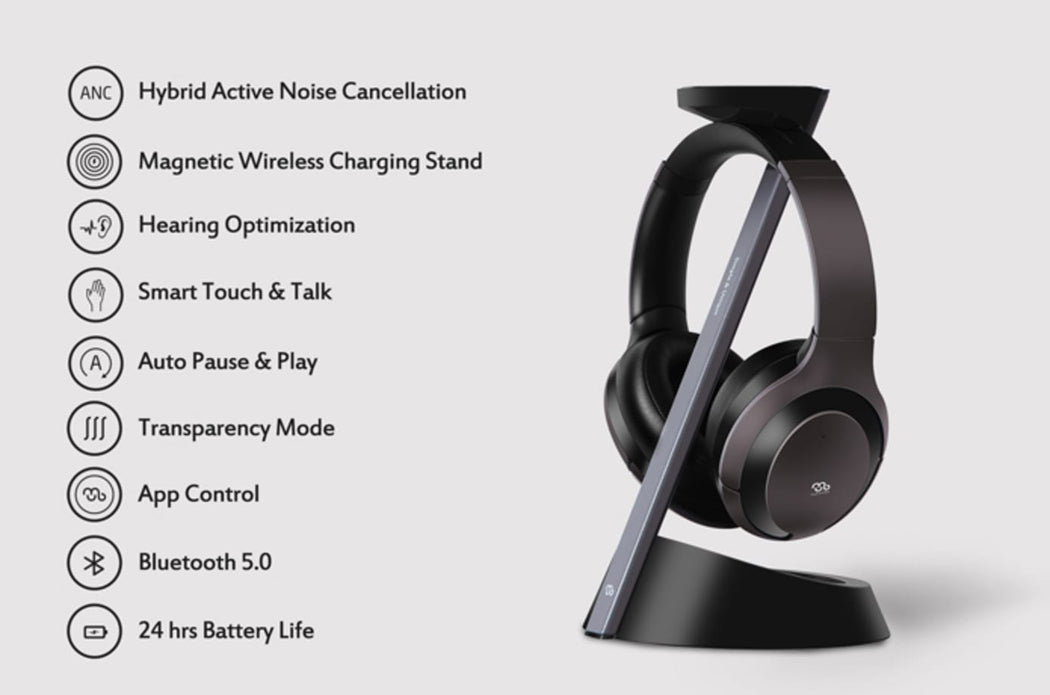 Mu6: Affordable Smart Noise Canceling Headphones