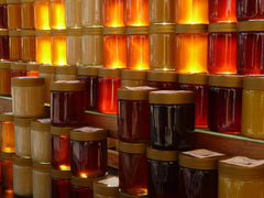 apidae candles honey colors