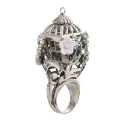 Romantic Birdcage Ring