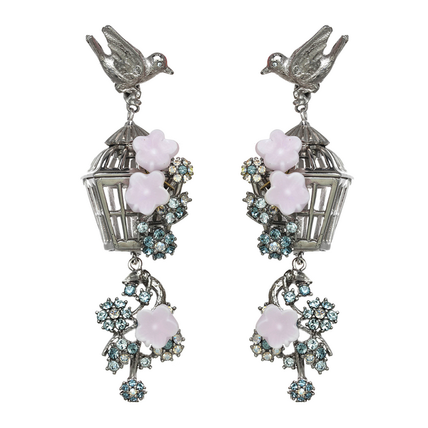 Romantic Birdcage Earrings