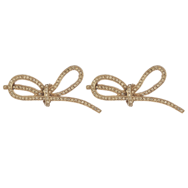 Lacey Bow Earrings
