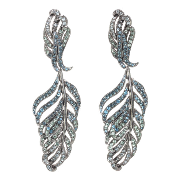 Statement Feather Earrings
