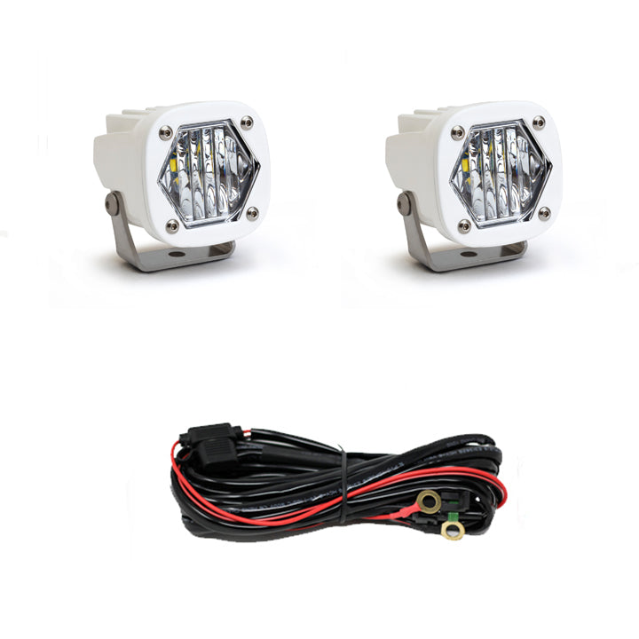 S1, Wide Cornering LED, White
