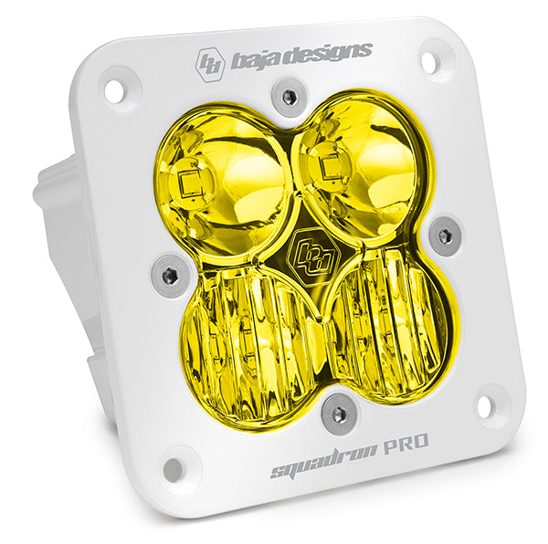 Squadron Pro, White, Amber, Flush Mount LED Driving