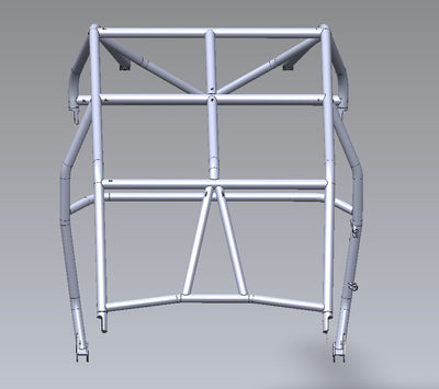 (2014-20)Polaris RZR XP1000 / Turbo 4 Seat Flat Top Cage (No Tail)