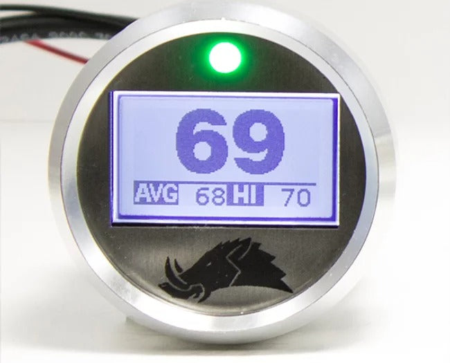 3.1 Dimmable Infrared Belt Temp Gauge