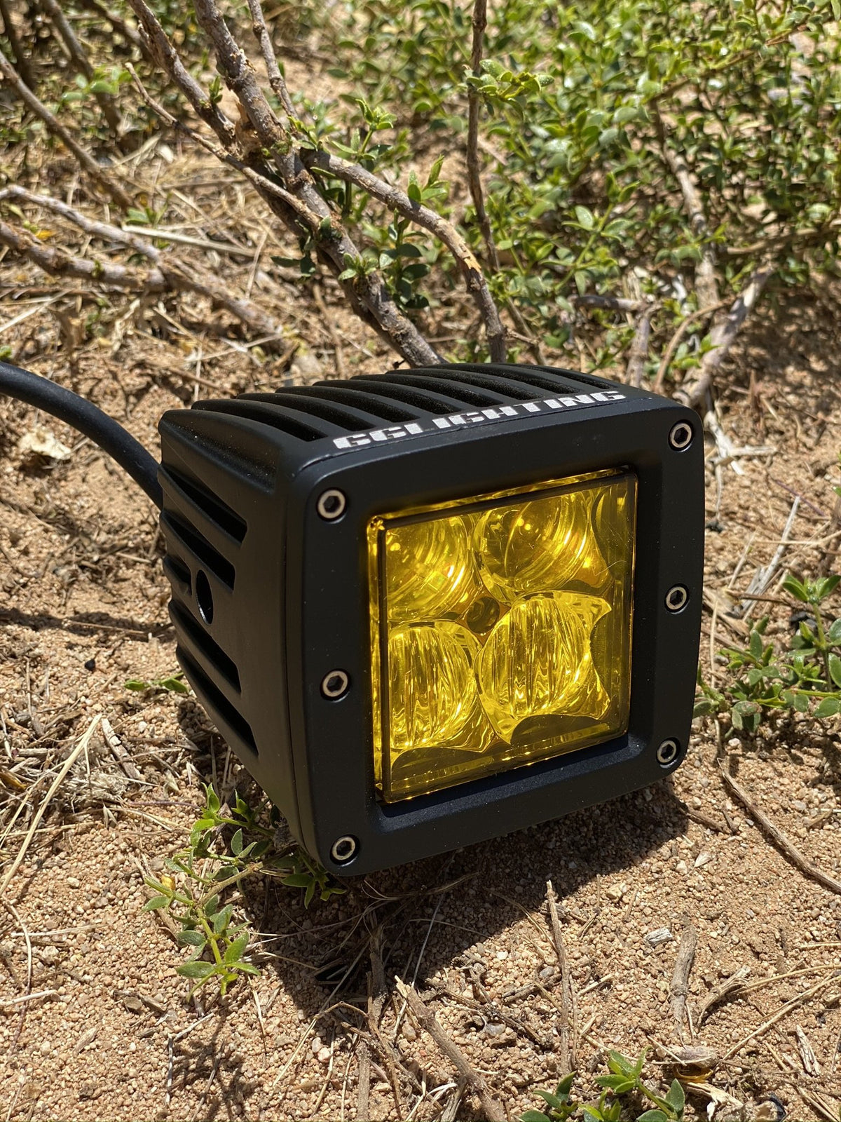 Amber Sport Series Off Road LED Pod