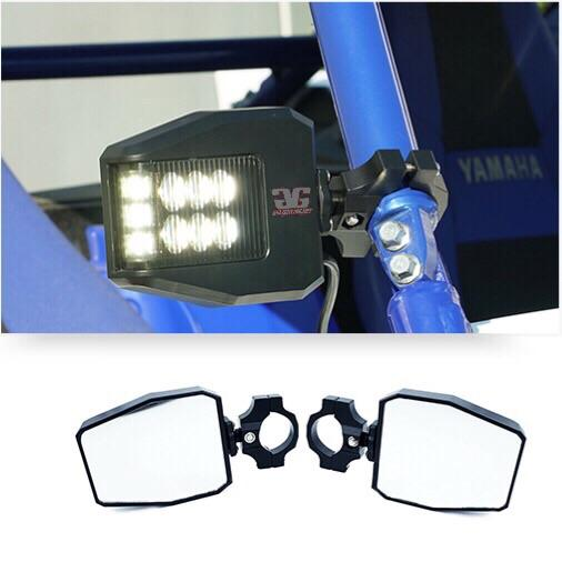 Off Road Side Mirror With Sidewinder LED Pod