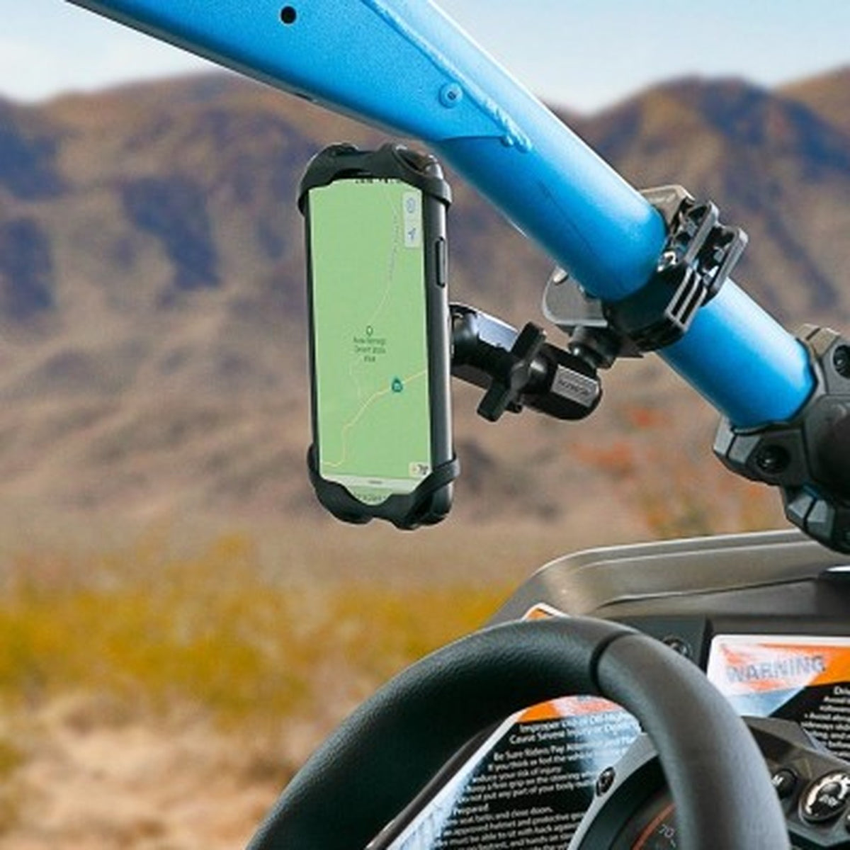 TerraClamp™ UTV/SXS/ATV/Motorcycle Phone Mount