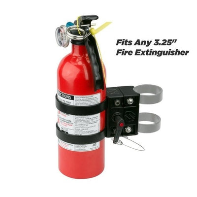 BaseClamp™ UTV/SXS/ATV Fire Extinguisher Mount