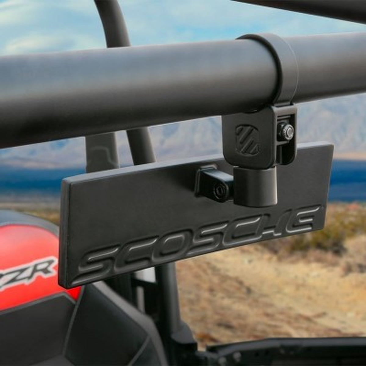 BaseClamp™ UTV/SXS/ATV Rear View Mirror