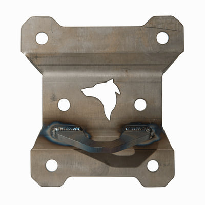 (2017-20)Can Am Maverick X3 Rear Radius Rod Plate Heavy Duty w/ hook