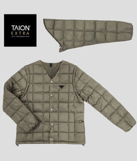 [MENS] TAION EXTRA V NECK INNER DOWN SET (TAION-EX-01SETM)