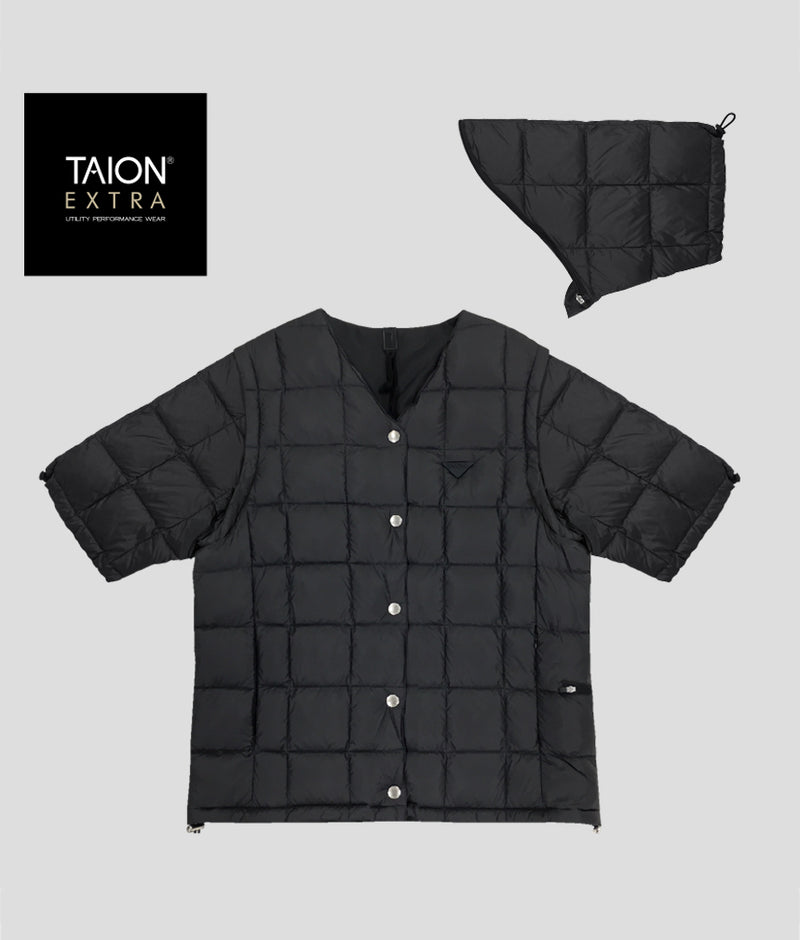 [LADYS] TAION EXTRA V NECK INNER DOWN SET (TAION-EX-01SETL)