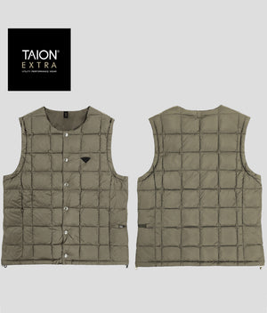 [MENS] TAION EXTRA CREW NECK INNER DOWN SET (TAION-EX-04SETM)