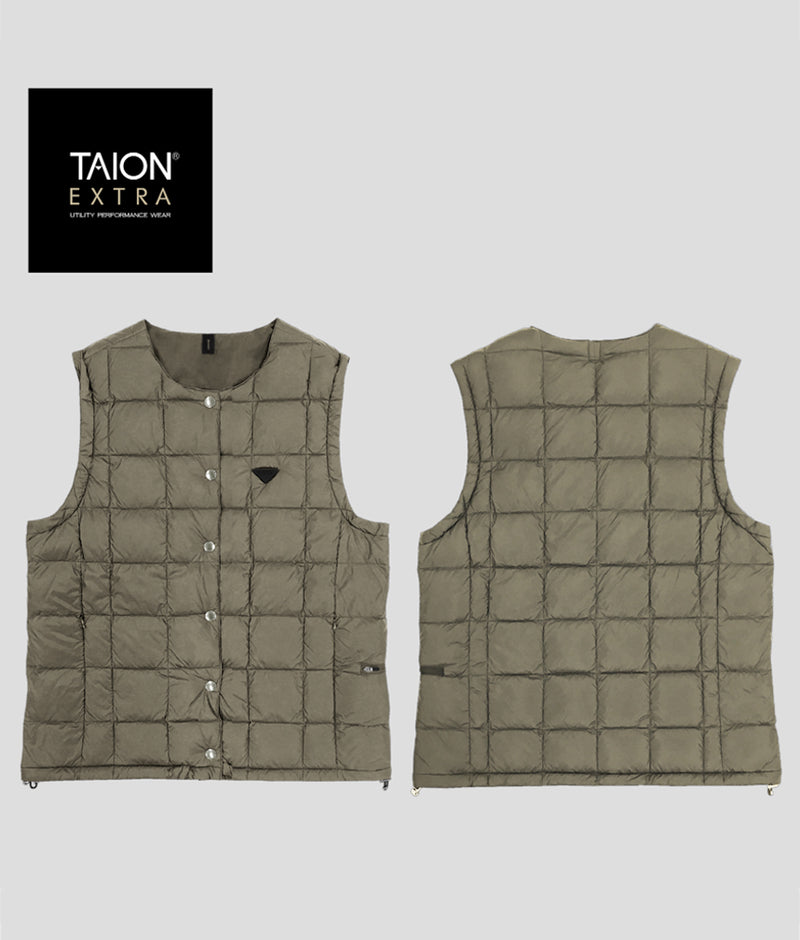 [LADYS] TAION EXTRA CREW NECK INNER DOWN SET (TAION-EX-04SETL)