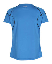 women's base coolskin tee blue by newline for aktiv activewear back view
