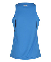 women's base coolskin singlet blue by newline for aktiv activewear back view
