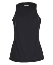 women's base coolskin singlet black by newline for aktiv activewear back view