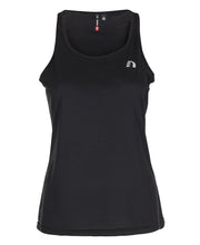 women's base coolskin singlet black by newline for aktiv activewear front view
