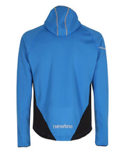 men's base warm up jacket blue by newline for aktiv scandinavian activewear back view