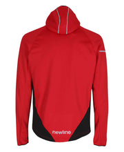 men's base warm up jacket red by newline for aktiv scandinavian activewear back view