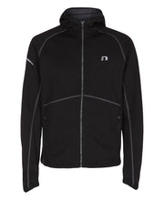 men's base warm up jacket black by newline for aktiv scandinavian activewear front view