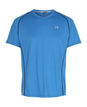 men's base coolskin tee blue by newline for aktiv activewear front view