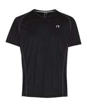 men's base coolskin tee black by newline for aktiv activewear front view