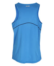 men's base coolskin singlet blue by newline for aktiv activewear back view