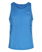 men's base coolskin singlet blue by newline for aktiv activewear front view