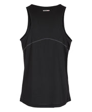 men's base coolskin singlet black by newline for aktiv activewear back view